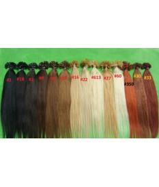 Włosy naturalne 100% REMY europejskie pasemka 50cm