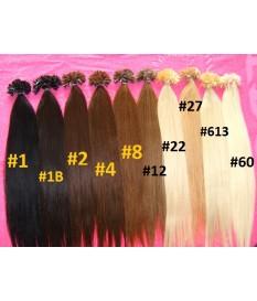 Włosy naturalne Europejskie 100% REMY pasemka 55cm
